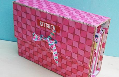 סדנא להכנת קופסת מתכונים