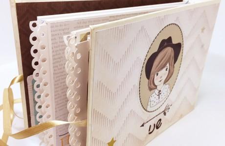 סדנת בוקר- הכנת מיני אלבום לתינוק